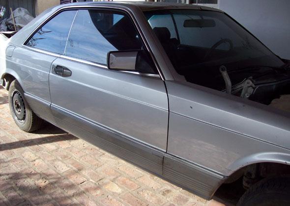 Auto Mercedes Benz 380 SEC