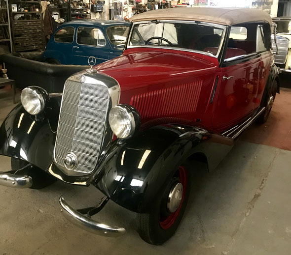 Auto Mercedes Benz 170 V Cabriolet B 1937