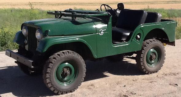 IKA Jeep 4x4 1956