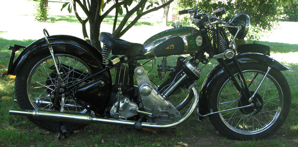 Panther S 100 600 Motorcycle