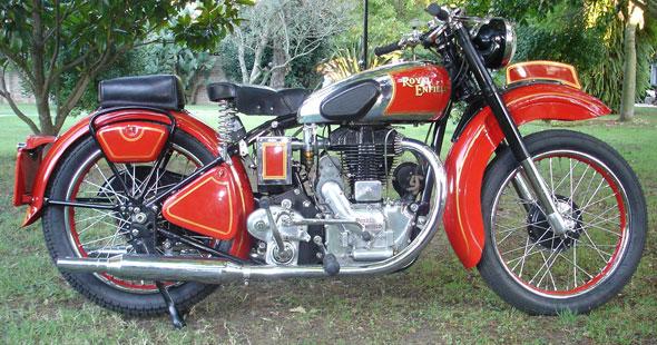 Royal Enfield J2  500 1947 Motorcycle