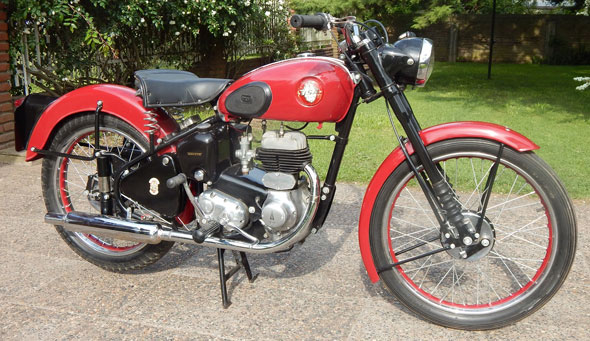 BSA C10 250 1954 Motorcycle