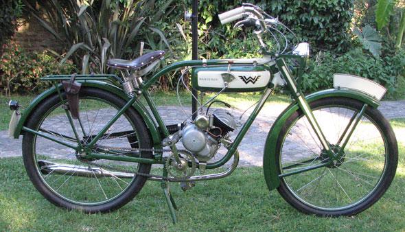 Moto Wanderer 1922