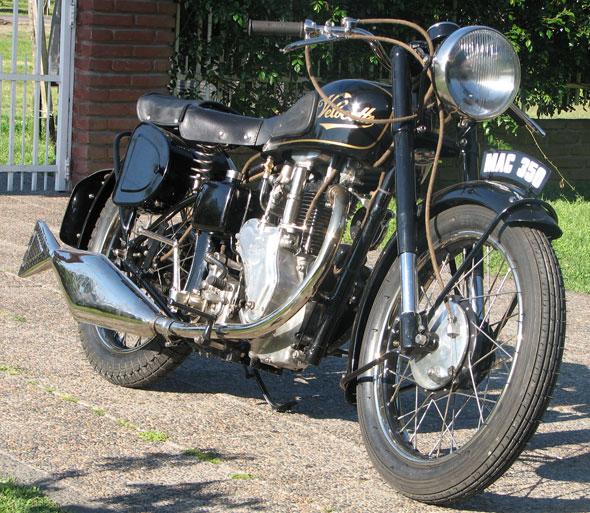 Moto Velocette Mac 350 1947