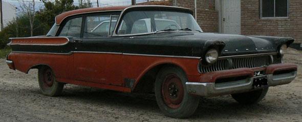 Auto Mercury Monterey 1957
