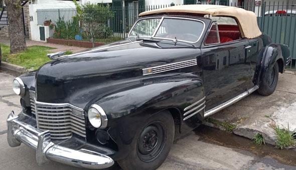 Auto Cadillac 1941 Convertible