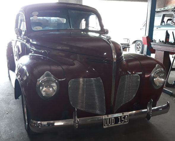 Auto Desoto Coupé 1940