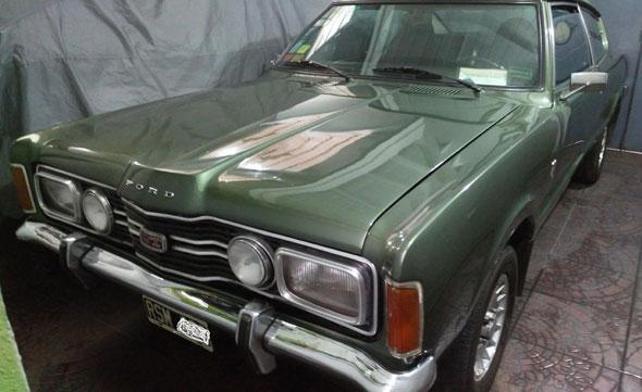 Auto Ford Taunus Coupé 1977
