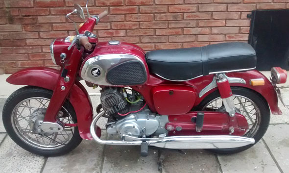 Honda Benly Motorcycle