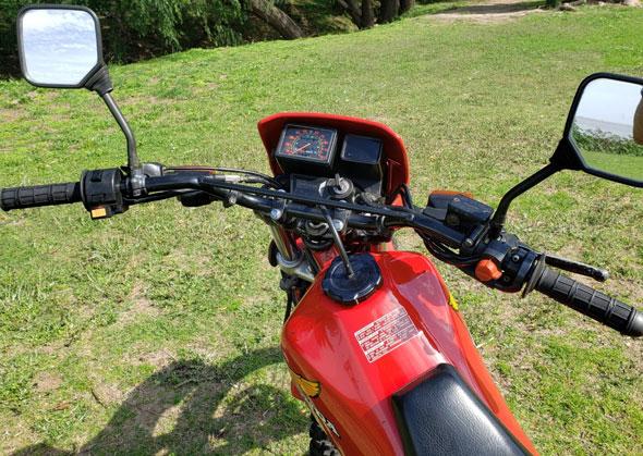 Honda XL350R Motorcycle