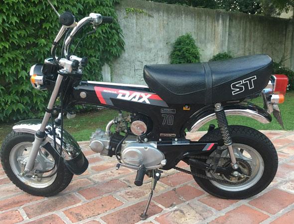 Moto Honda Dax St