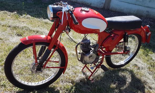 Moto Ducatti 1955