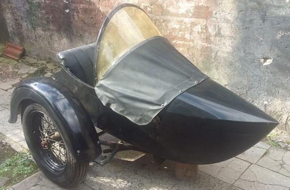 Moto Harley Davidson 1930