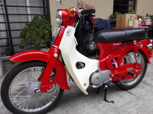 Honda C90 Econopower Motorcycle