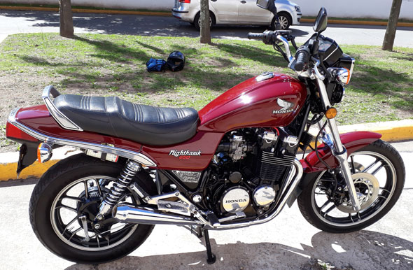 Honda Nighthawk 650 1984 Motorcycle