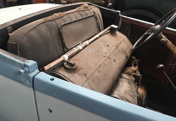 Auto De Soto Coupé 1931