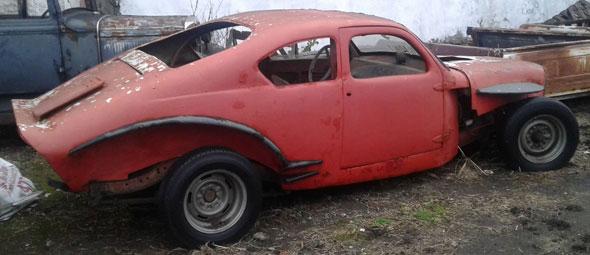 Auto Chevrolet Coupé TC 1940