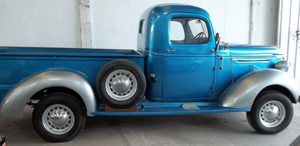 Auto Chevrolet Pick Up 1939