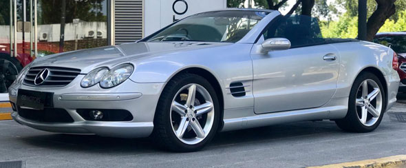 Mercedes Benz SL 500 Cabriolet
