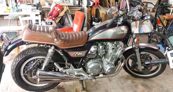 Moto Honda 750 Custom Exclusive 1979