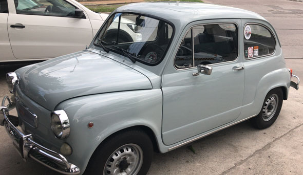 Auto Fiat 600 R 1974