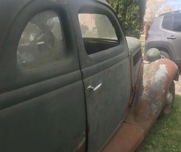 Auto Ford Coupé 1936 V 8  Cinco Ventanas