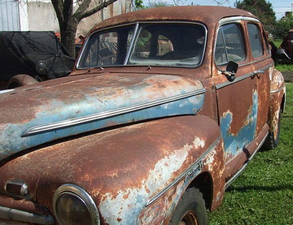 Auto Ford V8 1946 1946