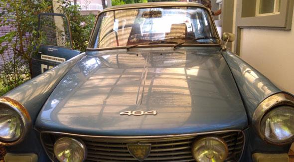 Auto Peugeot 404 1979
