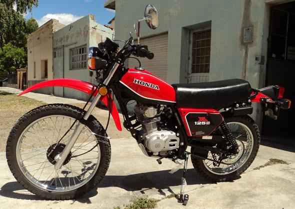 Honda XL125S 1981