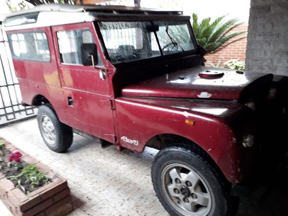 Auto Land Rover Serie I