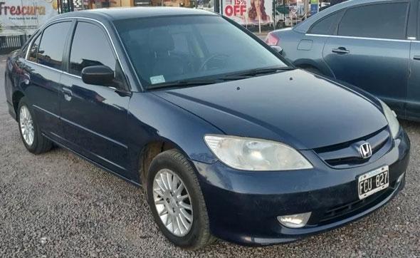 Auto Honda Civic EX AT
