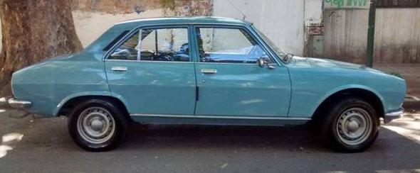 Auto Peugeot 504