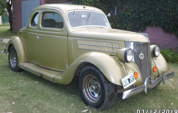 Auto Ford Coupé 5 Ventanas 1936