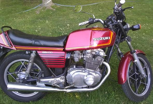 Moto Suzuki GS450
