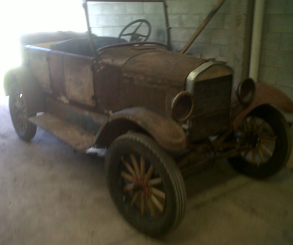 Auto Ford T 1927