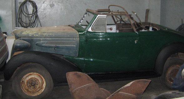 Auto Chevrolet 1937 Convertible