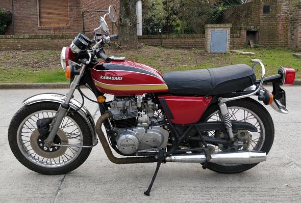 Kawasaki KZ 400 D3