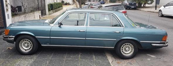 Auto Mercedes Benz 450 SEL