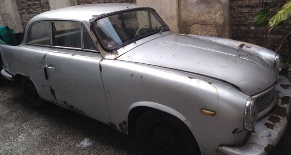 Auto Hansa 1100 Luxus 1957