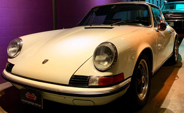 Auto Porsche 911 Targa 1972