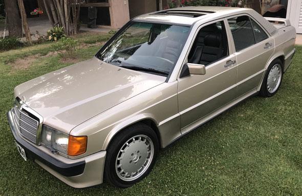Auto Mercedes Benz 190 2,3 16v