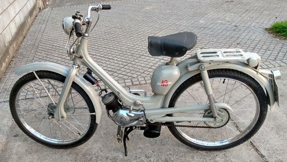 Moto Siambretta 48 1957
