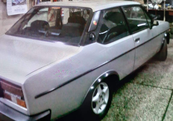 Auto Fiat 131 Racing 1980
