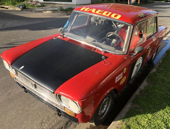 Auto Fiat 1500 C 1967