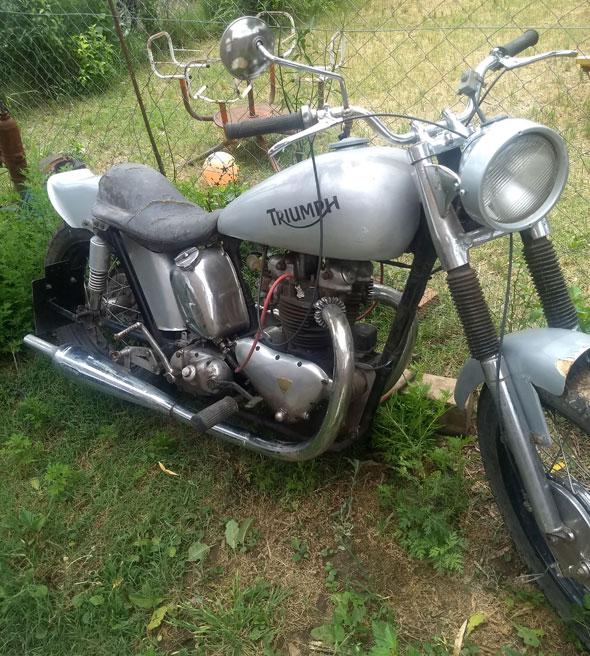 Triumph T100 500 1948