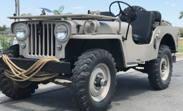 Auto Willys Jeep CJ2A