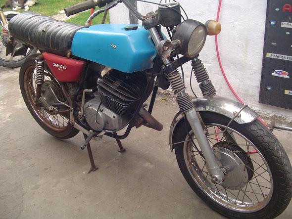 Moto Zanella 125 1978