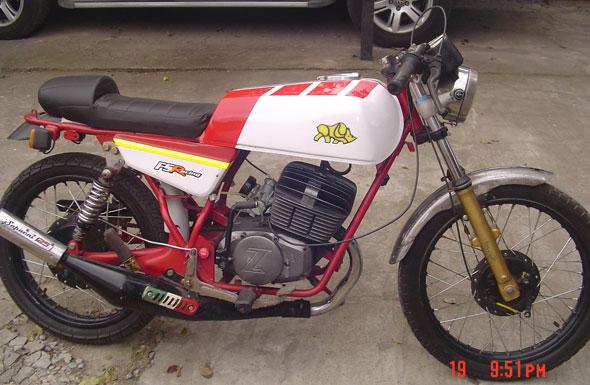 Moto Zanella 125 1977