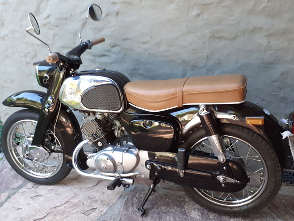 Moto Honda Benly 125