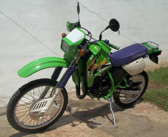 Moto Kawaski KMX 125 1998